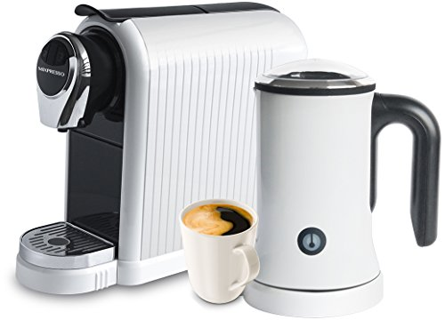 MiXPRESSO Latte Machine | Nespresso Compatible Capsules – White