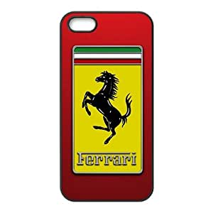 QQQO Famous car logo Ferrari Phone case for iPhone 5s