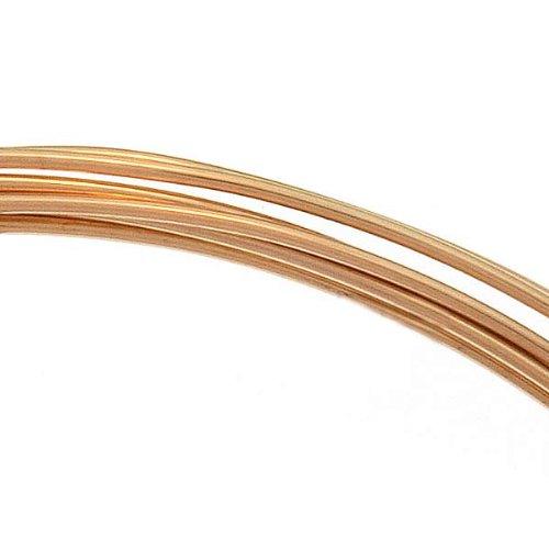 Beadaholique 14K Gold Filled Wire 22 Gauge Round Dead Soft (5 Feet)