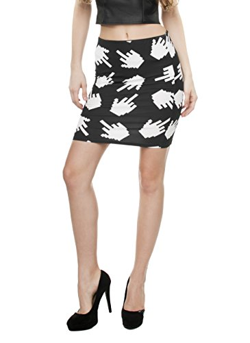Women\'s MädchenDamen Mini Kleid Rock Slim High Waist Fashion Bandage ...