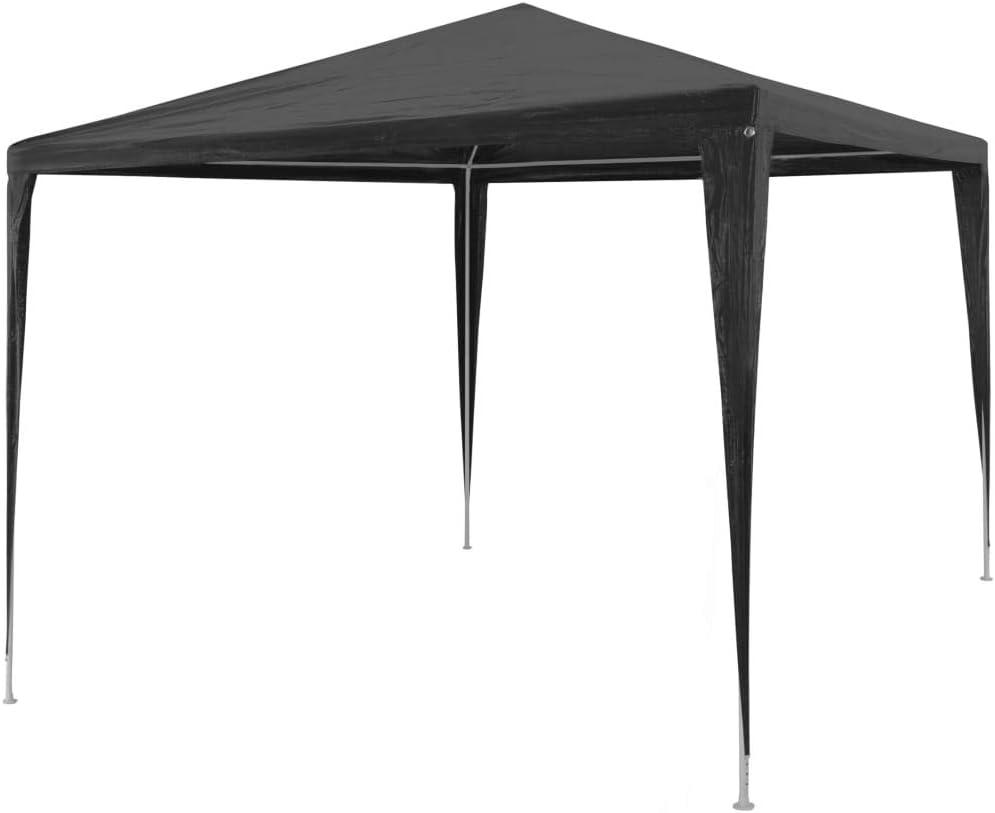 Impermeable y Resistente a Los Rayos UV Gris Antracita Festnight Plegable Carpa para Celebraciones 3x3 m