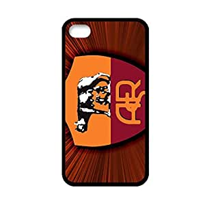 Generic Hard Plastic Phone Case For Girly Printing A S Roma Logo For Apple Iphone 4 4S Choose Design 2