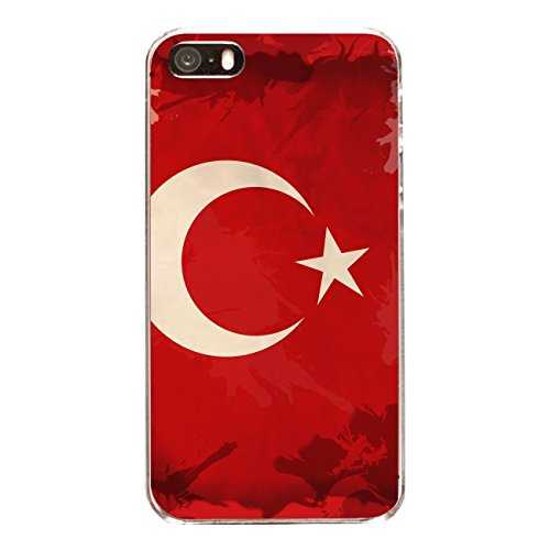 "Disagu Design Case Coque pour Apple iPhone 5 Housse etui coque pochette ""Türkei"""