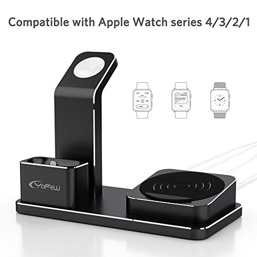 YoFeW-Charging-Stand-for-Apple-Watch-Aluminum-Watch-Charger-Stand-Charging-Station-Dock-Compatible-for-Apple-Watch-Series-43-21-AirPods-10W-Wireless-Charger-Pad-for-iPhone-XSX88-Plus