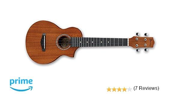 Ibanez UEW5-OPN - Ukulele acústico, color natural: Amazon.es: Instrumentos musicales