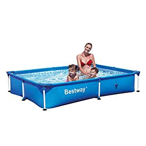 Bestway 56040 - Piscina (Piscina con anillo hinchable, Rectangular, 4 personas(s), 2210 mm, 1500 mm, 43 cm)