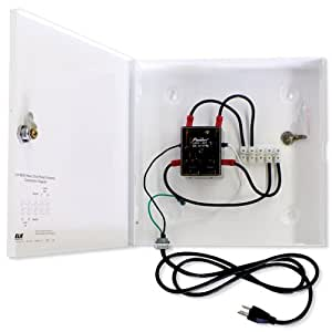 Elk Heavy Duty Relay Contactor in a Lockable Metal Structured Wiring Panel Enclosure
