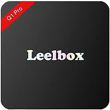 Leelbox Q1 Pro Android TV Box Smart TV Box Amlogic S905 X 64bits 2 K & 4 K HD 2.0 Quad Core Android 6.0 1 GB RAM 8 GB Flash: Amazon.es: Electrónica