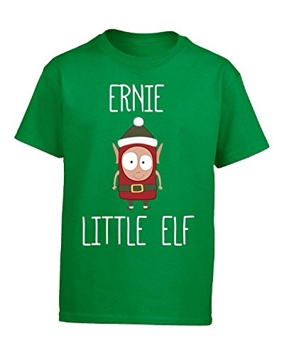 Ernie Little Elf Christmas - Kids T Shirt Kids Xl Irish-green (Ernie The Elf)