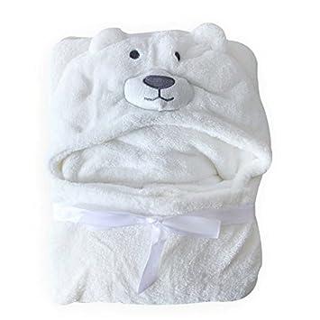 Amazon.com   Anna Vic Comfortable Baby Bathrobe Cute Animal Cartoon Babies  Blanket Kids Hooded Bathrobe Toddler Baby Warm Bath and Hooded Towel  Newborn Baby ... 0c9d05ffa