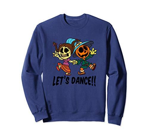 Let's Dance Halloween Miss Skeleton and Mr Pumpkin Head ()