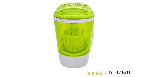Mini Lavadora Centrifugadora portátil Caravan 2.5kg: Amazon.es ...