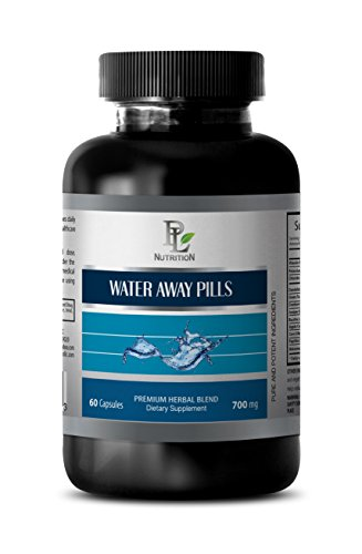 antioxidant – WATER AWAY PILLS 700MG – NATURAL DIURETIC – blood pressure equipment – 1 Bottle (60 Capsules)