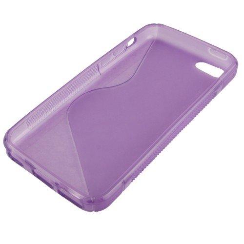 Handyhülle TPU Case für Handy Apple iPhone 5C Lila
