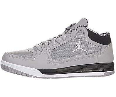 size 40 0d394 036be Amazon.com   Jordan Air Post Game - Matte Silver White-Black, 11 D US    Basketball