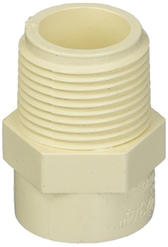 King Brothers Inc. RCM-0750-S 3/4-Inch Threaded PXL CPVC Male Adapter, Tan