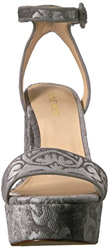 fabric West light Fabric Krewl Women's light Heeled Sandal grey Nine grey vx4dqYnSvT