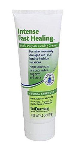 TriDerma Intense Fast Healing Multi-Purpose Cream (4.2 oz) by TriDerma