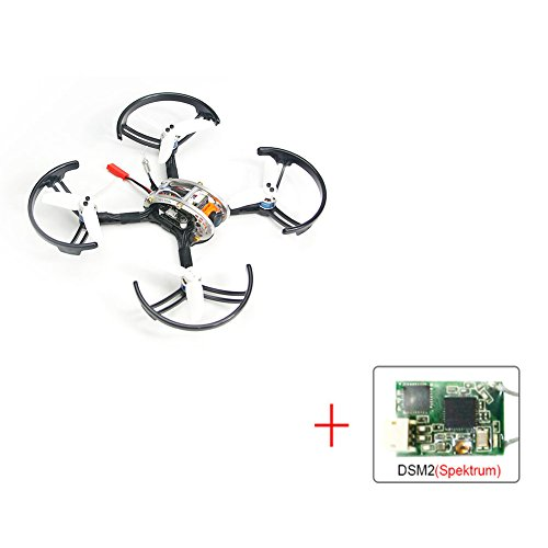 KING KONG FPV EGG PNP Brushless 136mm FPV RC Racing Drone Mini Quadcopter (DSM/2 Receiver Compatible with Spektrum)