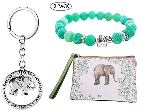 Elephant Gift Sets Valentines Day Gifts Galentines Day Gift (Elephant Gifts) (Set Coin Elephant)