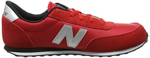 New Balance Jungen, Funktionsschuh, Kl410 Kids Lifestyle Cordón Rot (Red/White)