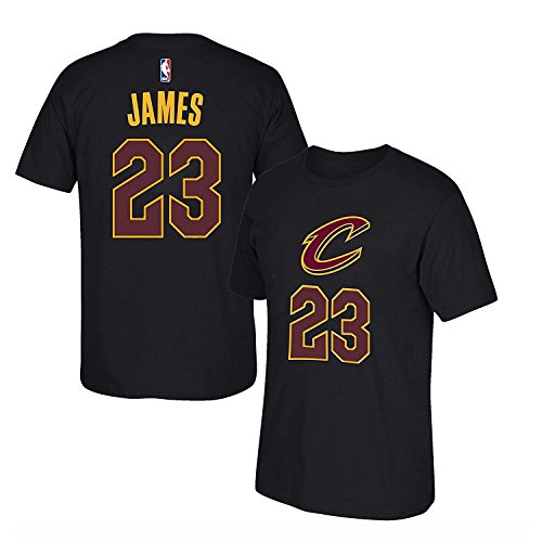 'Lebron James Cleveland Cavaliers #23 NBA Youth Boys Name & Number T-Shirt, Black, Youth Medium 10/12'
