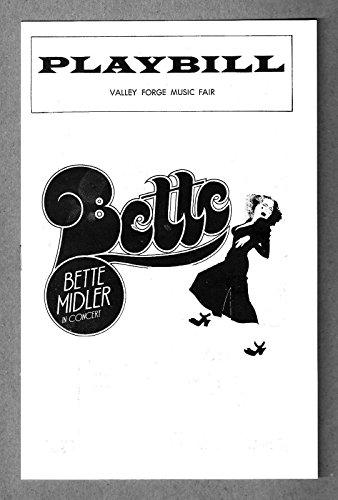 BETTE MIDLER Valley Forge Music Fair