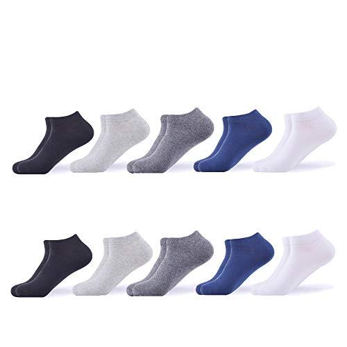 - WeciBor Men's Dress Casual Combed Cotton Crew Socks Pack (B065-13)