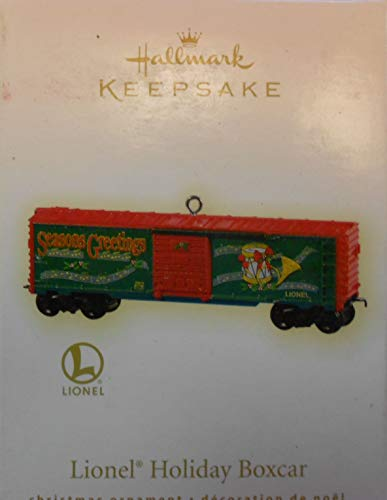 Hallmark Ornament 2009 Lionel Holiday Boxcar