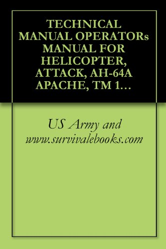 TECHNICAL MANUAL OPERATOR's MANUAL FOR HELICOPTER, ATTACK, AH-64A APACHE, TM 1-1520-238-10, US ARMY, , Military ()