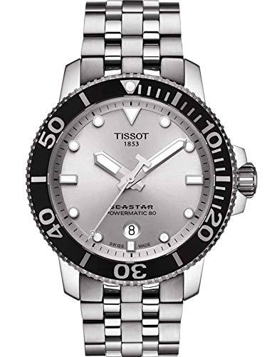 Tissot Seastar 1000 Automatic Silver Dial Mens