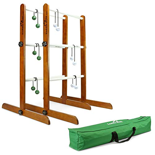 Ladder Golf - Tournament Edition Double Ladder Ball Game - Official Brand Game -