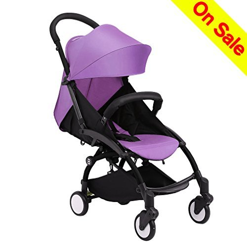 Infant Car Seat Stroller Travel Systems Lightweight Baby Stroller Folding Infant Stroller Anti-Shock Umbrella Stroller 12.8lb Rainproof Toddler Carrier for Travel and Plane