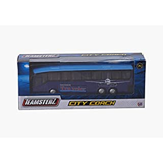 HTI BRAND Teamsterz City 1:50 Scale City Coach Diecast Bus Toy