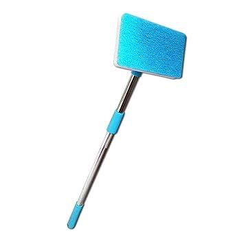 meetgre Cepillo De Limpieza para Acuario Cepillo Limpiador De Esponja Azul para Acuario, para Pecera: Amazon.es: Hogar