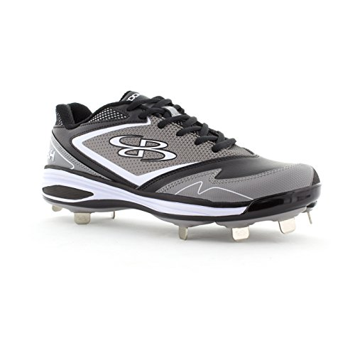Gray Women's Color A Boombah Black Options 6 Multiple Sizes Metal Game Cleats UnqnPpa