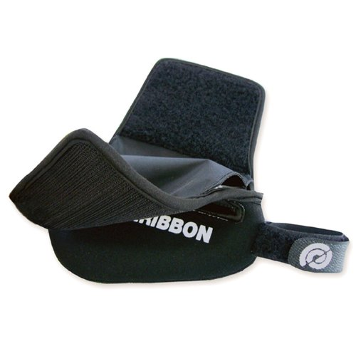 Bike Ribbon Satteltasche Pocket, Black, 29 x 9 x 5 cm, 0.25 Liter, Pock0010