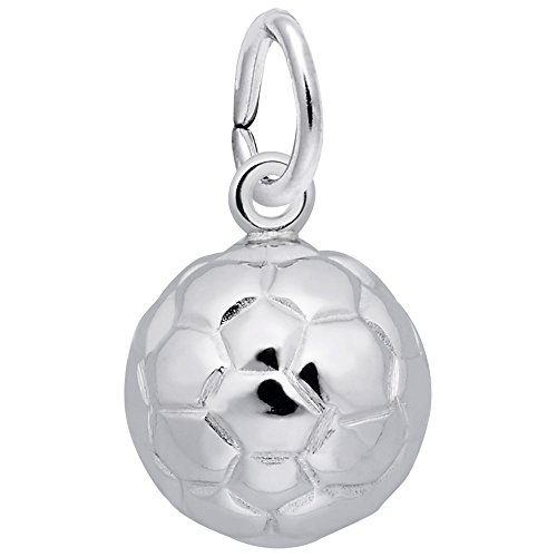 Rembrandt Charms, Soccer Ball, 14k White ()