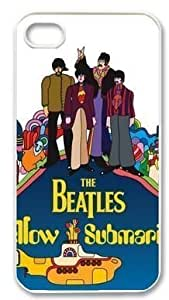 Beatles Hard Plastic Protective Cover Case For Iphone 5/5s (WCA Custom Designed)