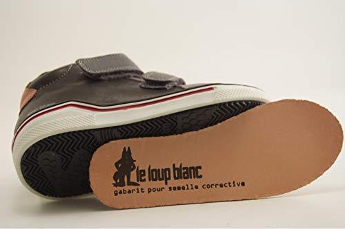 Blanc Baskets Noir Haerien Loup Hautes Noir Le garçon 626 Tqnt5wnO