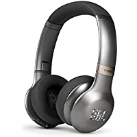 JBL Everest 310 On-Ear Wireless Bluetooth Headphones with Built-In Mic (Gun Metal) - Refurbished