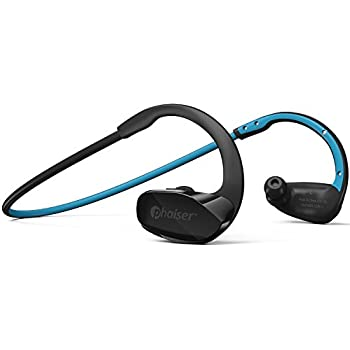 Phaiser BHS-530 Bluetooth Headphones, Wireless Earbuds Stereo Earphones for Running with Mic and Lifetime Sweatproof Guarantee, Oceanblue