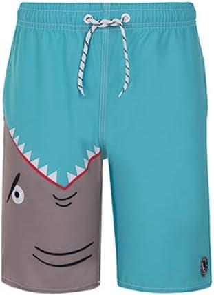 LUPO ルポ◆ブラジル ブラジルスイムウェア キッズ 男児 パンツ 水着 サメ ポケット付き サーフパンツ lio29005