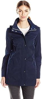 Tommy Hilfiger Women's Zip Front Hooded Jacket