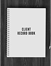 Client Record Book: Smart Alphabetical Client Tracker  Professional Business To do list Book for Hair Stylist, Therapist & Nails Stylist  Client Organizer & Client Management System. Including ... Information Keeper & Record Log Paperback