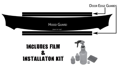 Husky Liners Custom Fit Paint Protection Film for Select GMC Models (Clear) - Husky Shield Paint