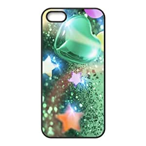 Beautiful shiny crystal Phone Case for iPhone 5S(TPU)