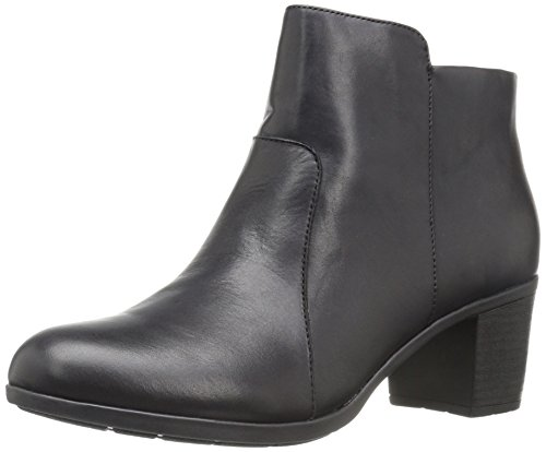 Easy Spirit Women's Billian Boot, Black Leather, 9.5 M US by Easy Spirit