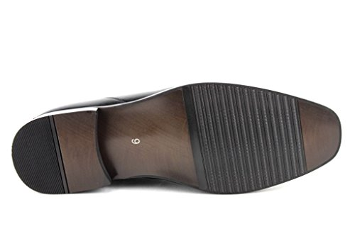Mens Maestoso 37687 Slip On Scarpe Casual Mocassino Nero