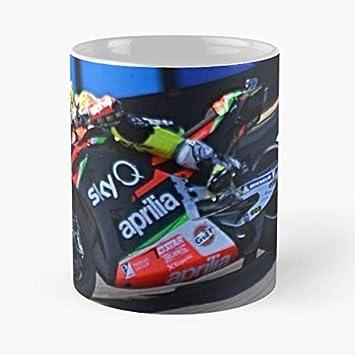 Official MotoGP Motorcycle Bike Gift Ceramic Coffee Espresso Cup 6oz MGPMUG15